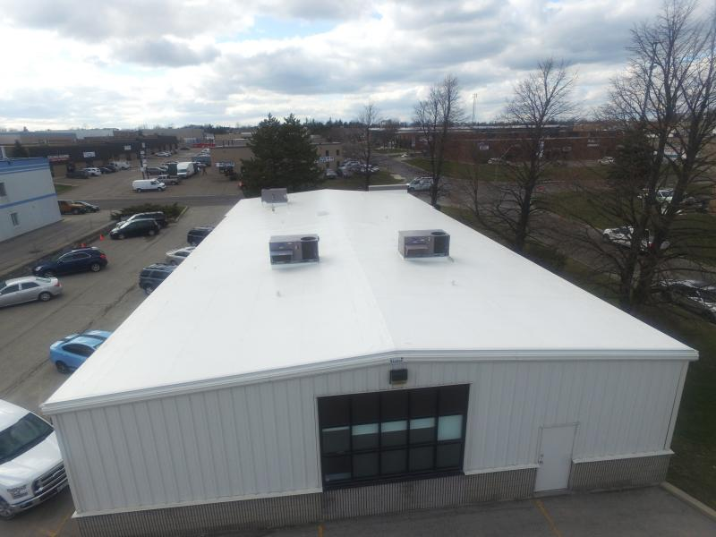 The Staff At Hamilton Wentworth Teacheru0027s Local 105 Had Endured Multiple  Recurring Roof Leaks. Their Steel Roof Had Passed Its Service Life And  Required A ...